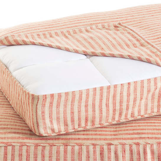 Adams Ticking Brick Dog Bed Cover