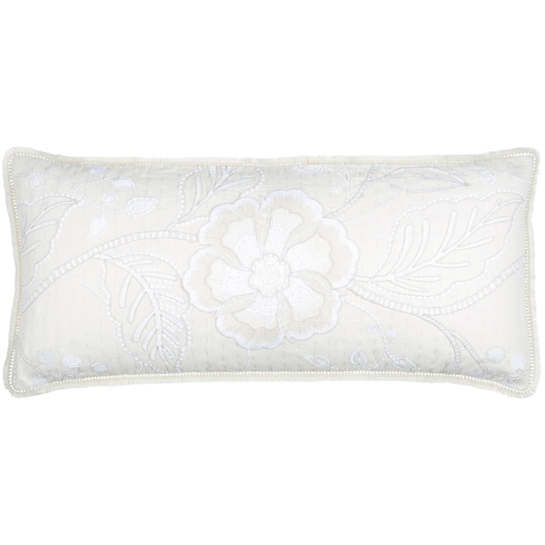 Addison Embroidered Decorative Pillow
