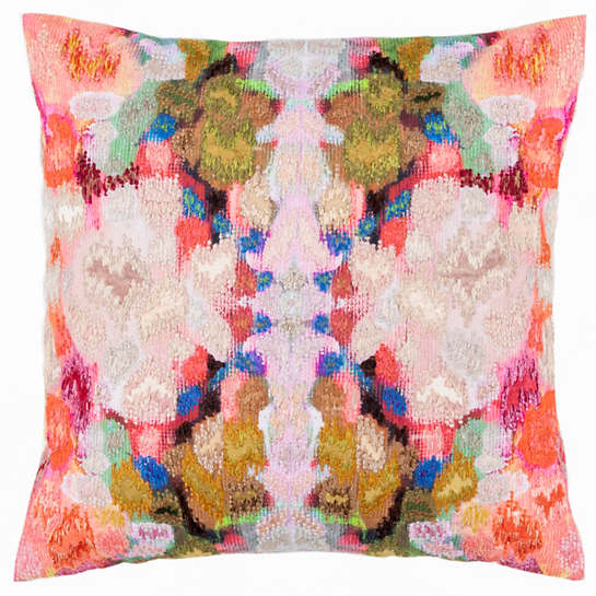 Frisco Embroidered Decorative Pillow