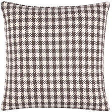 Houndstooth Charcoal Indoor/Outdoor Decorative Pillow