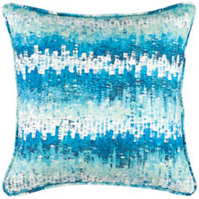 Maldives Aqua Indoor/Outdoor Decorative Pillow