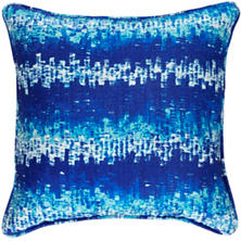 Maldives Blue Indoor/Outdoor Decorative Pillow