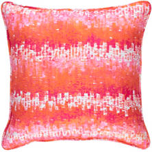 Maldives Pink Indoor/Outdoor Decorative Pillow