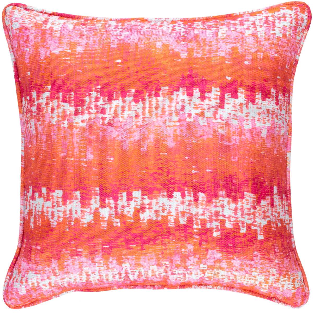 Maldives Pink Indoor/Outdoor Decorative Pillow