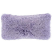 Longwool Combed Sheepskin Decorative Pillow