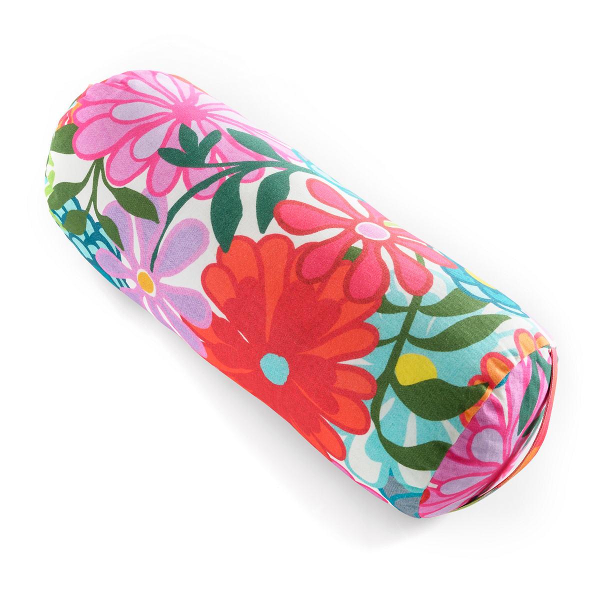 Salutation Floral Bolster Pillow