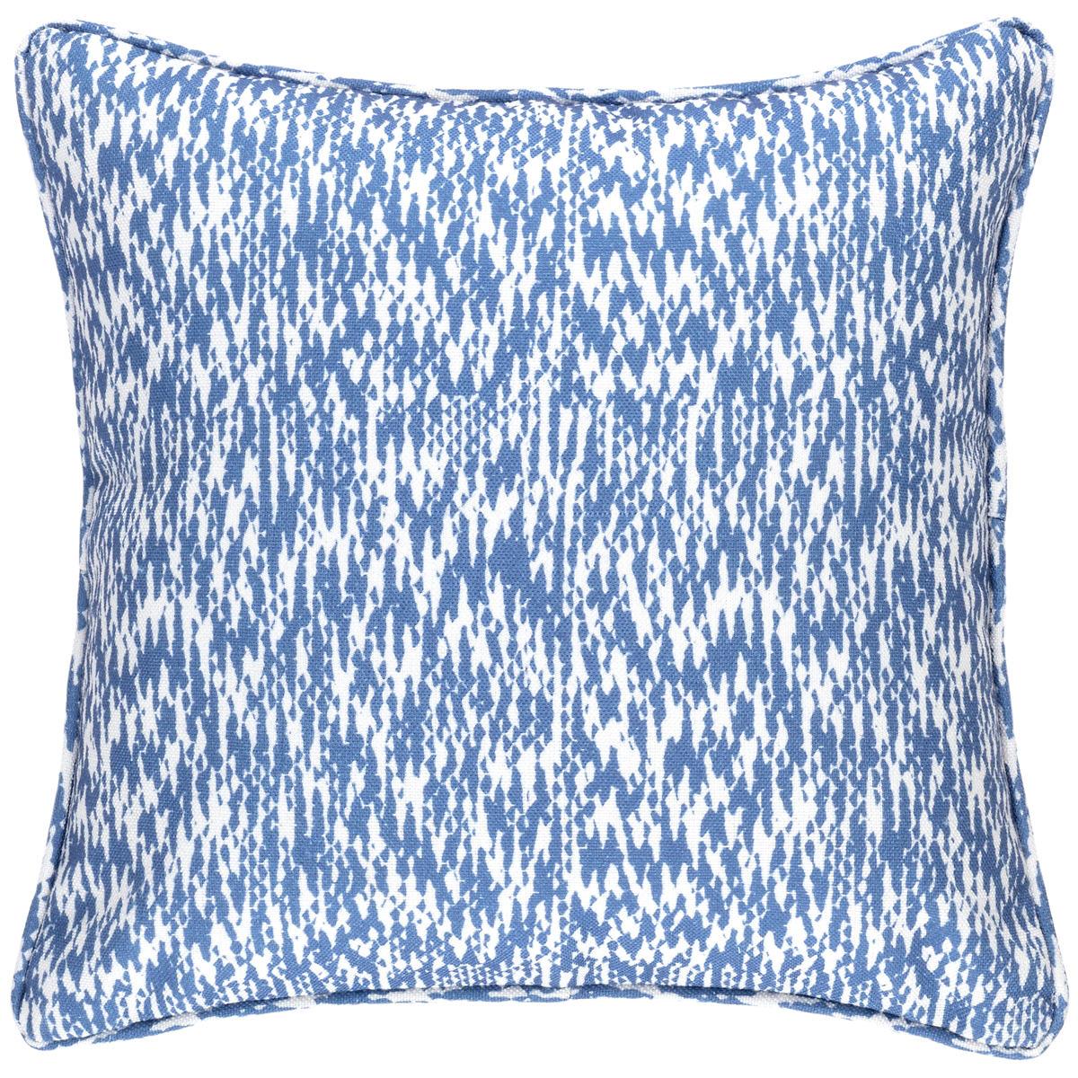 Sea Island Denim Indoor/Outdoor Decorative Pillow