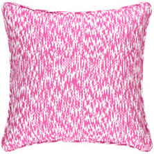 Sea Island Fuchsia Indoor/Outdoor Decorative Pillow