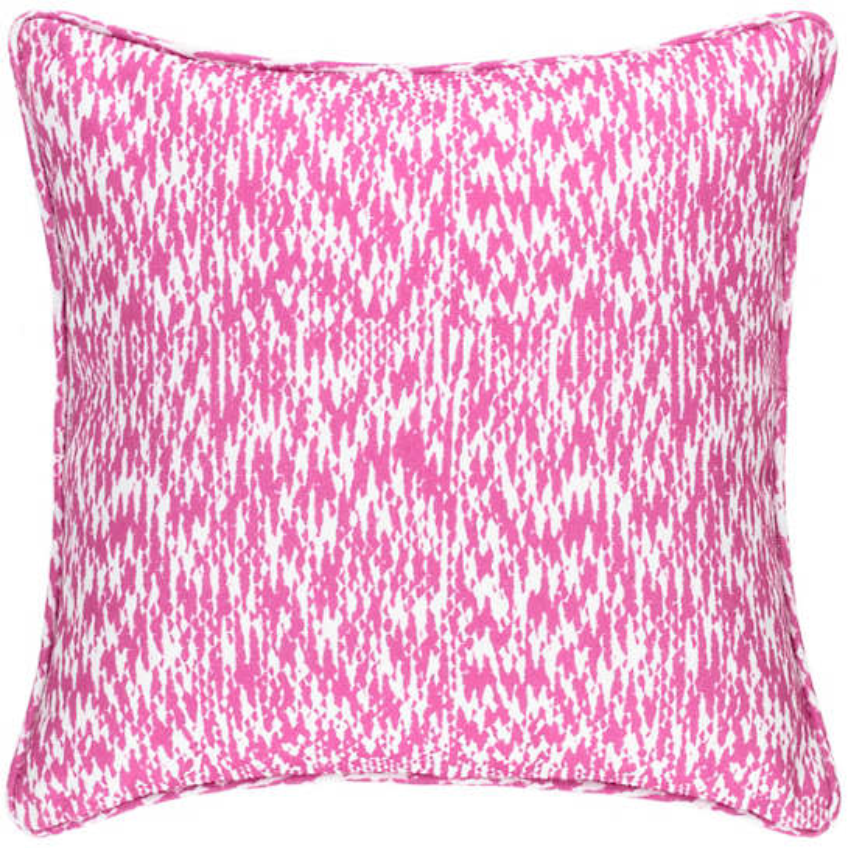 Sea Island Fuchsia Indoor/Outdoor Decorative Pillow
