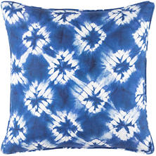 Shibori Linen Decorative Pillow