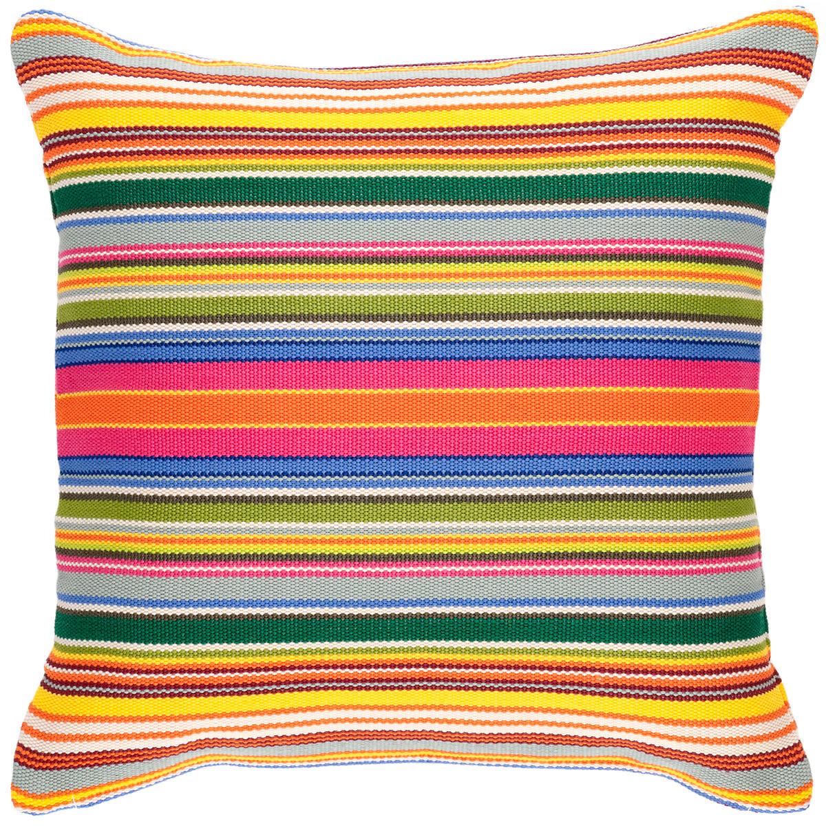 Tropical Stripe Indoor/Outdoor Decorative Pillow
