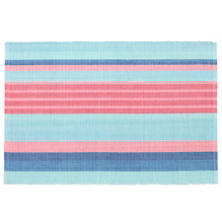 Aruba Stripe  Placemat Set Of 4