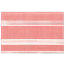Bistro Stripe Coral Placemat