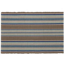 Blue Heron Stripe  Placemat Set Of 4
