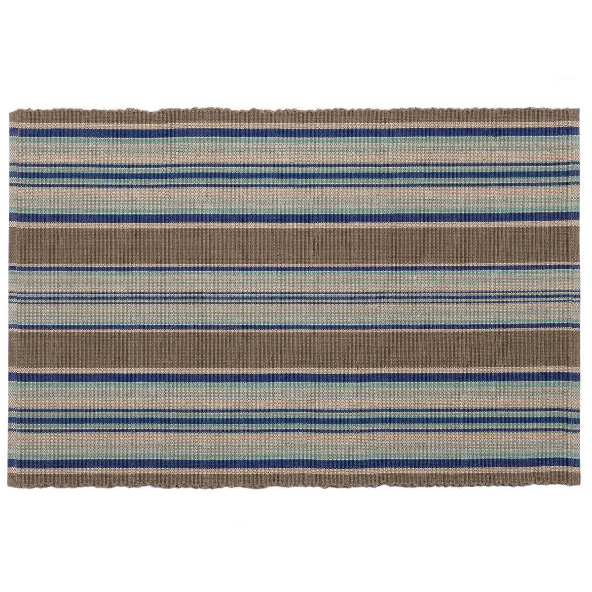Blue Heron Stripe  Placemat Set Of 4