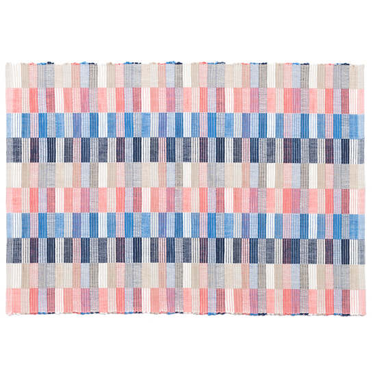 Cantina Blue/Coral Placemat