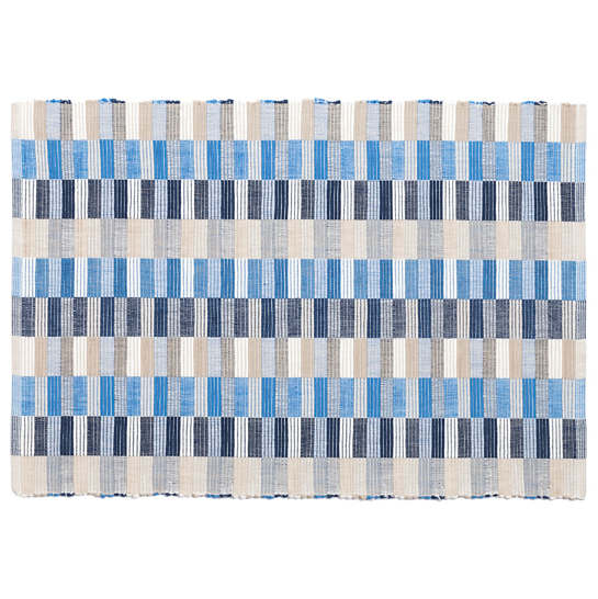 Cantina Blue/Platinum Placemat