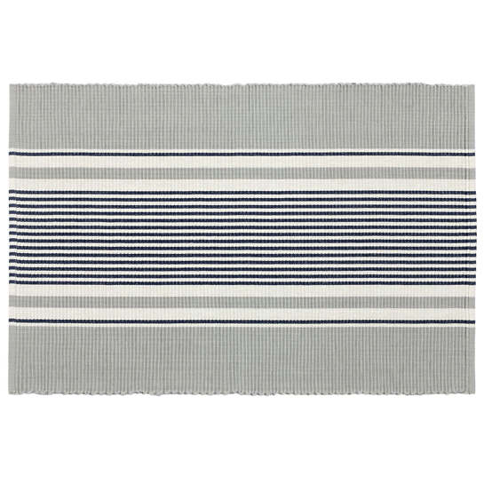 Gunner Stripe  Placemat Set Of 4