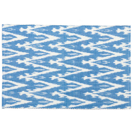 Ikat Woven French Blue Placemat