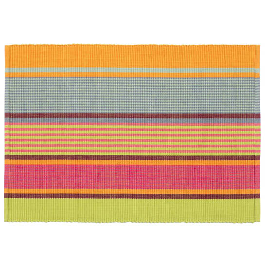 Tahiti Stripe  Placemat Set Of 4