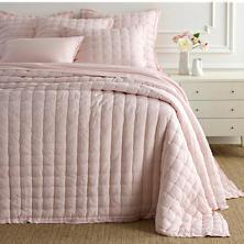 Lush Linen Slipper Pink Puff