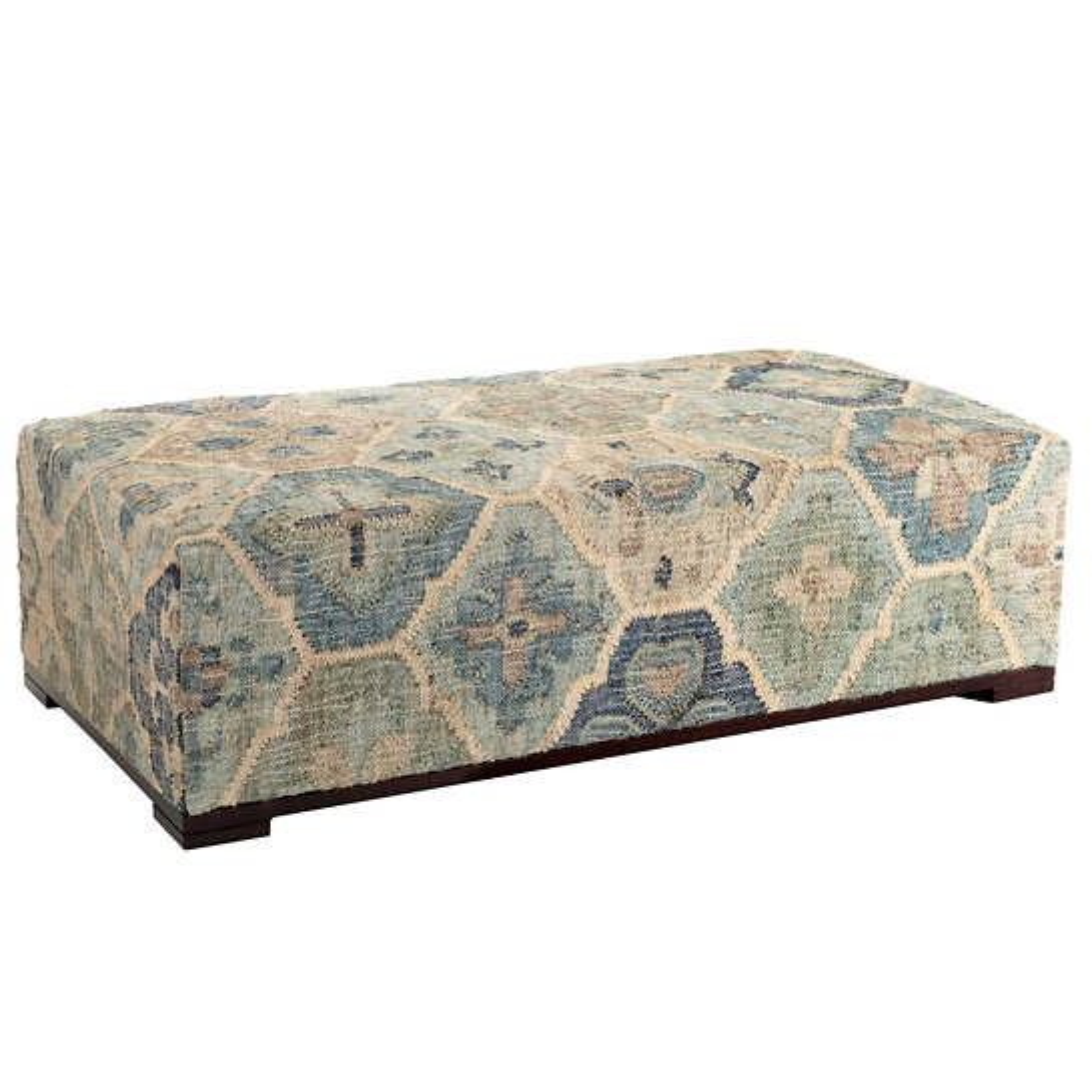 Pali Blue Rug Bench