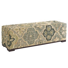 Pali Evergreen Dining Rug Bench