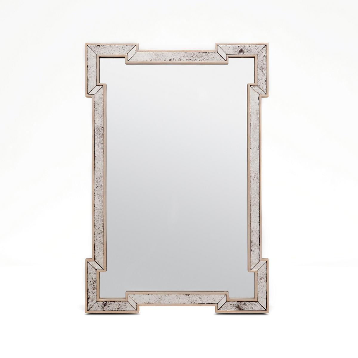 Palladian Silver Norma Mirror