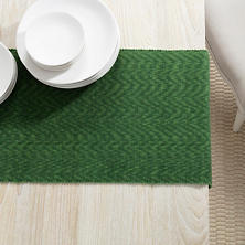 Palm Evergreen Table Runner