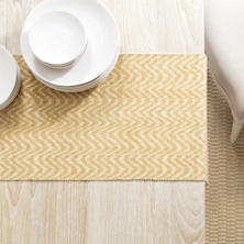Palm Gold Table Runner