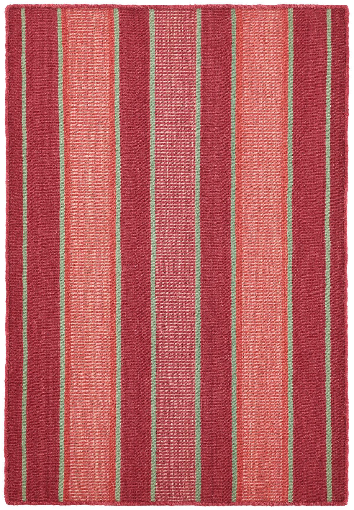 Palmer Stripe  Woven Wool Rug