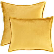 Panne Velvet Gold Decorative Pillow