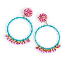 Paradise Hoop Earrings