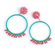 Paradise Hoop Earrings