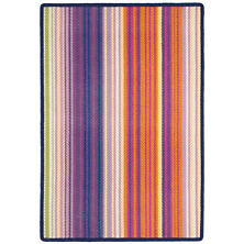 Paradise Stripe Multi Woven Wool Rug