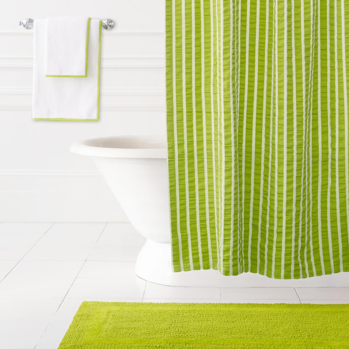 Parker Green Shower Curtain