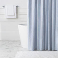 Paros Stripe Shower Curtain