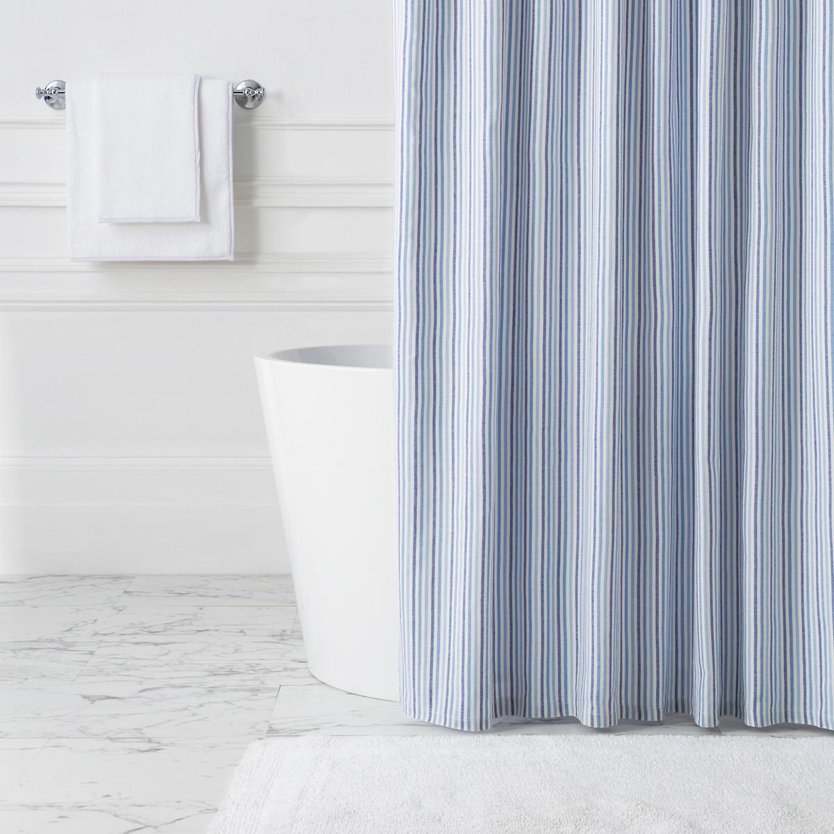 Paros Stripe Shower Curtain
