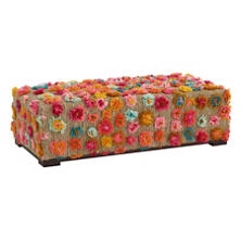 Party On  Rug Bench