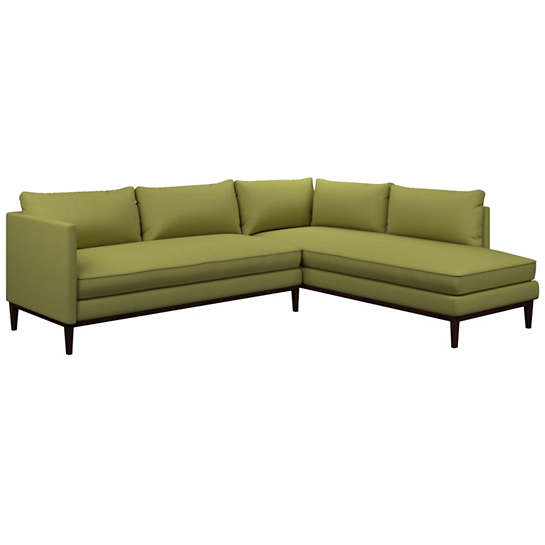 Estate Linen Green Paseo Sectional