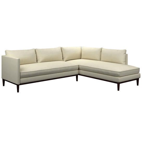 Estate Linen Ivory Paseo Sectional