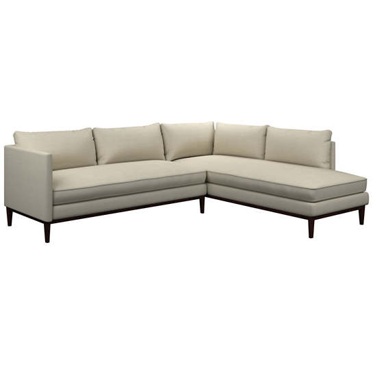 Estate Linen Pearl Grey Paseo Sectional