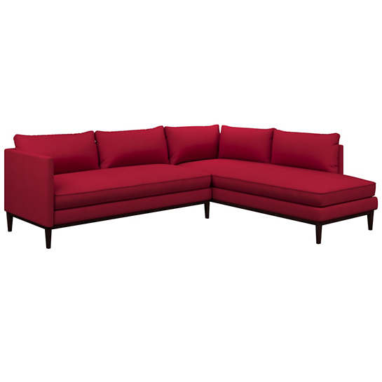 Estate Linen Red Paseo Sectional