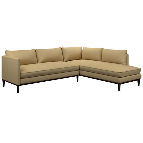 Estate Linen Wheat Paseo Sectional
