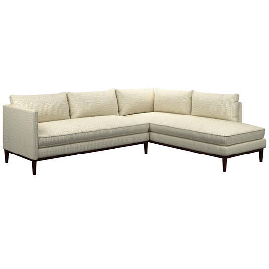 Pebble Ivory Paseo Sectional