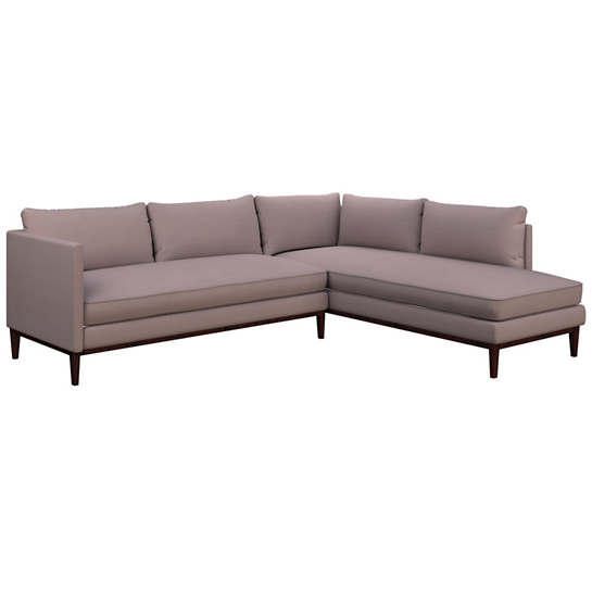 Weathered Linen Heather Paseo Sectional