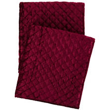 Patina Velvet Cranberry Throw