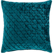 Patina Velvet Juniper Decorative Pillow