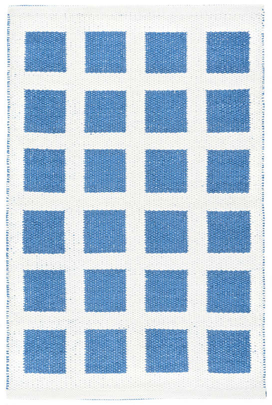 Paver French Blue Indoor/Outdoor Rug