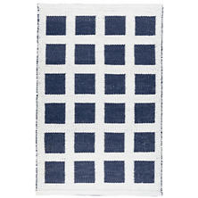 Paver Navy Indoor/Outdoor Rug